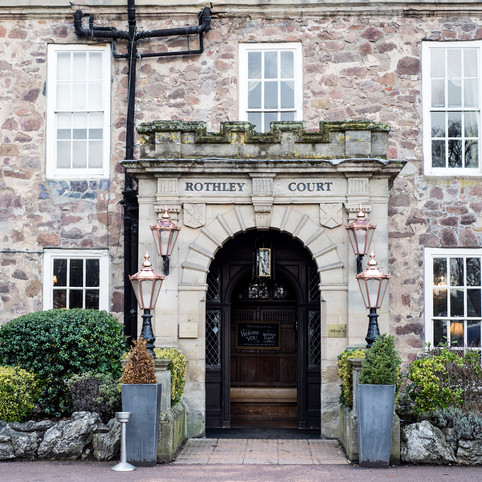Leicestershire Wedding Venues   Rothley Court Hotel