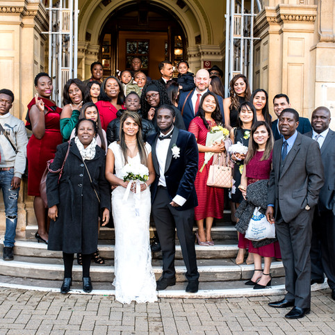 February Leicester wedding of Chanchal&Ronald