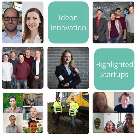 Highlighted startups from Ideon Innovation