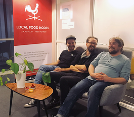Bakom kulisserna - Local food nodes