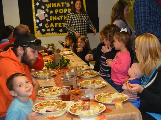5th Annual Thanksgiving Feast!