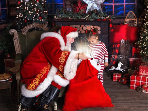 Santa is Coming to Daycare