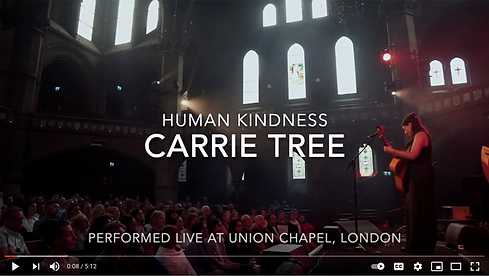 Carrie at Union Chapel gig video image.p
