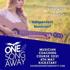 One Song Away course - sacred sound comm