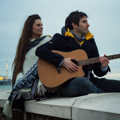 Scott and Maria music duo - UK - Brighton - Brighton seaside.jpg