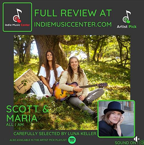 Scott & Maria - Music revew by Luna Kell