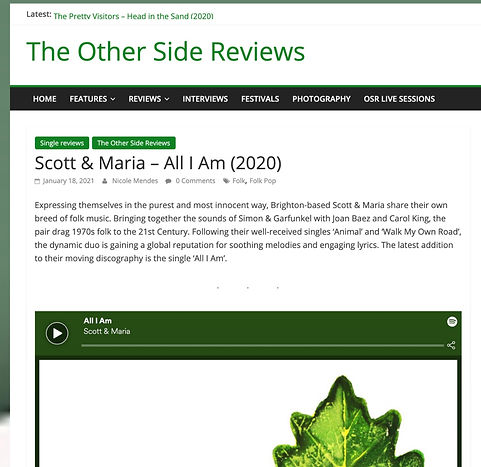 scott and maria review on the other side