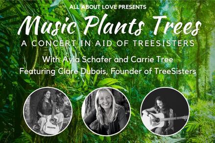 Treesisters fundraiser - Ayla, Carrie & Claire Dubois