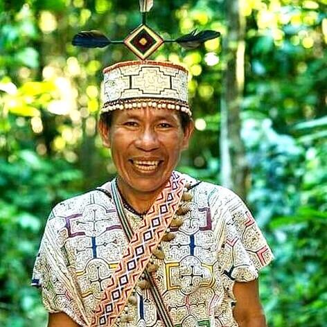 DEODOMERO MATIOS MAYNAS (el maestro  indígena  ancestral)