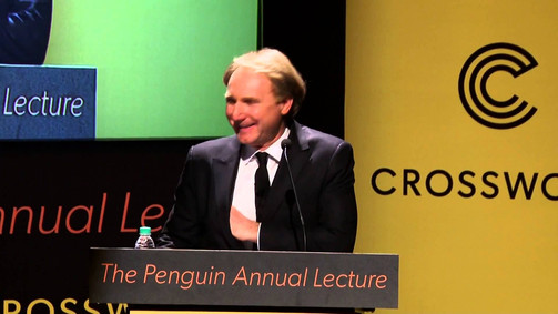 Introducing Dan Brown at the Penguin Annual Lecture
