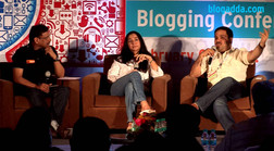 In Conversation with Kiran Manral at Win14 blogging conference