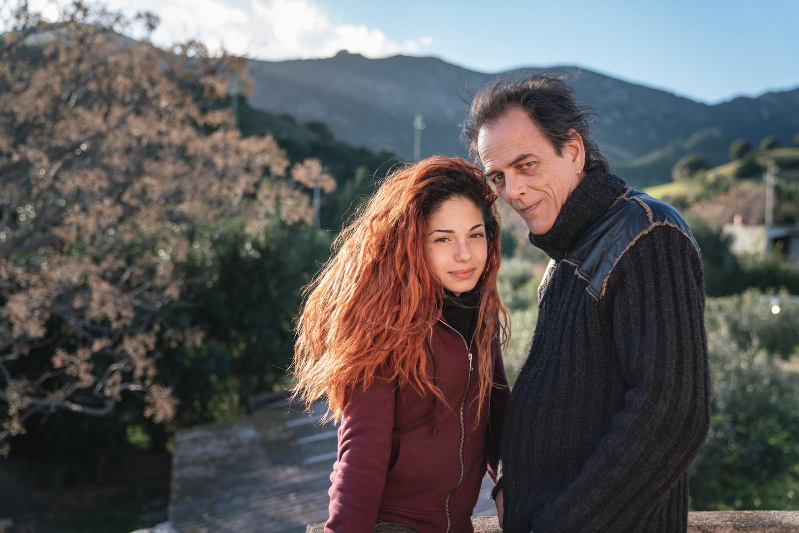 Nora Stassi e Luciano Curreli