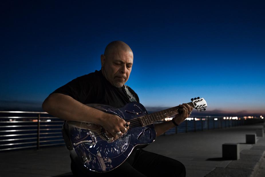 Vittorio Pitzalis, bluesman