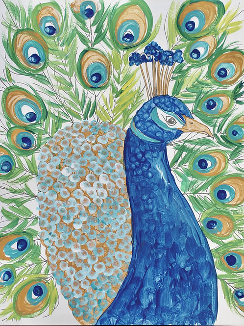 ART BOX: Peacock