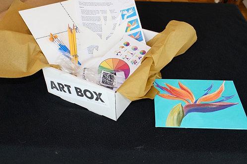 ART BOX: Bird of Paradise