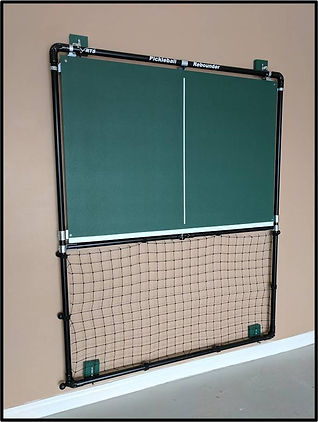 Pickleball Rebounder -The Wall-Mounted model