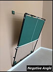Pickleball Rebounder - Negative Angle Position