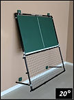 Pickleball Rebounder 20 Degree Angle