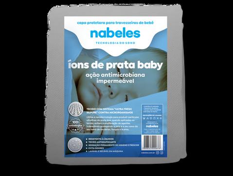 Capa p/ Travesseiro Baby Íons de Prata