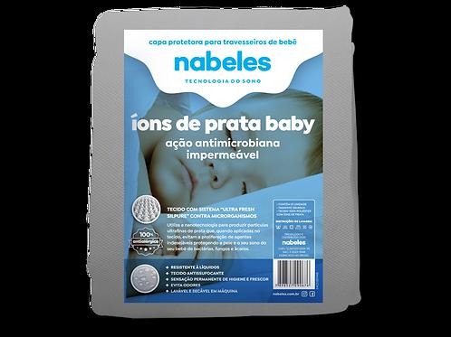Capa p/ Travesseiro baby  Íons de Prata Antimicrobiano Tam. 30x40