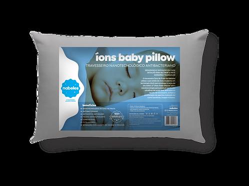 Travesseiro Baby Pillow  Íons de Prata Antimicrobiano Tam.30x40