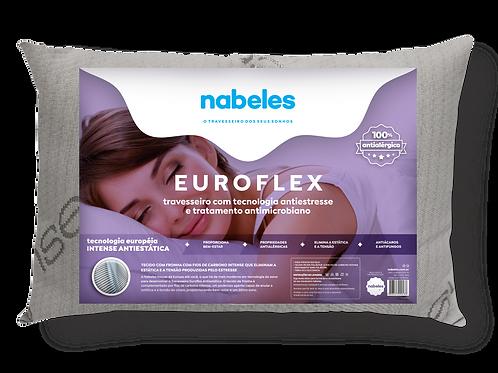 Travesseiro Euroflex Antiestresse com Fios de Carbono 50x70cm