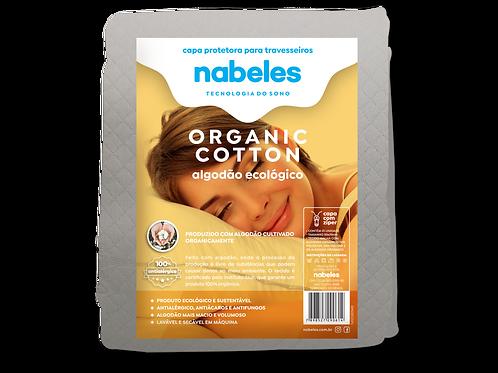 Capa p/ Travesseiro Organic Cotton Ecológico de Algodão Orgânico 50x70cm
