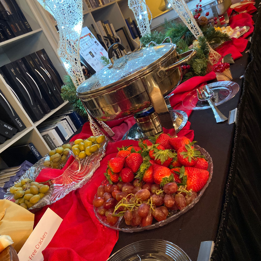 Fruit and Hors D'oeuvres