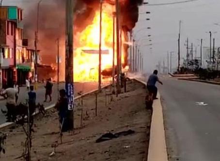 Incendio en Villa El Salvador: cifra de fallecidos aumenta a 20