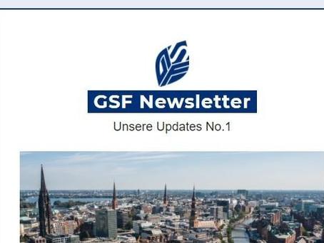 Unser erster GSF Newsletter ist da!