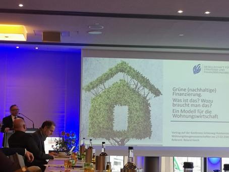 Grüne (nachhaltige) Finanzierung - Diskussion auf der VNW-Genossenschaftskonferenz