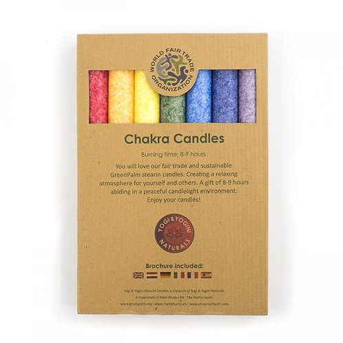 Dinner Candles - Set of 7 scented