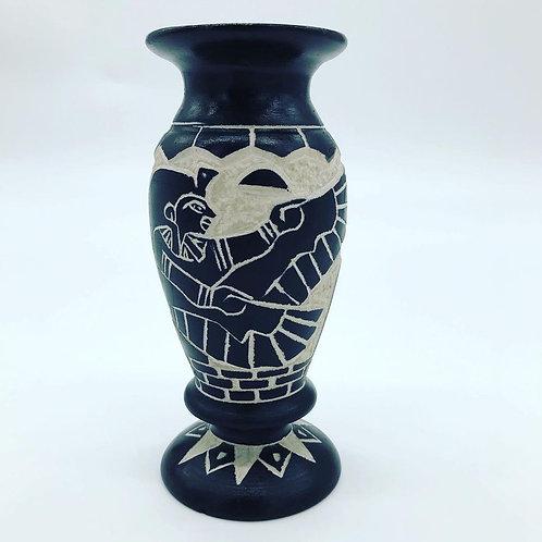Limestone Vase - Small