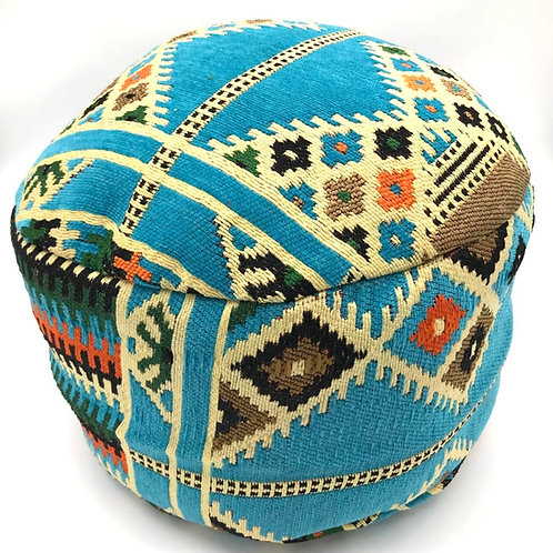 Pouffe -Turquoise