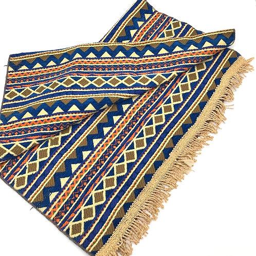 Rug - Blue / Pyramid Pattern