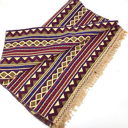 Rug - Purple / Pyramid Pattern