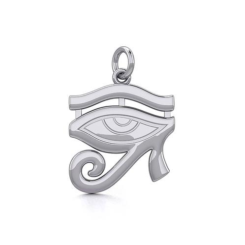 Eye of Horus Silver Charm