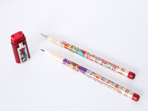 Pencil, Pen duo with Eraser