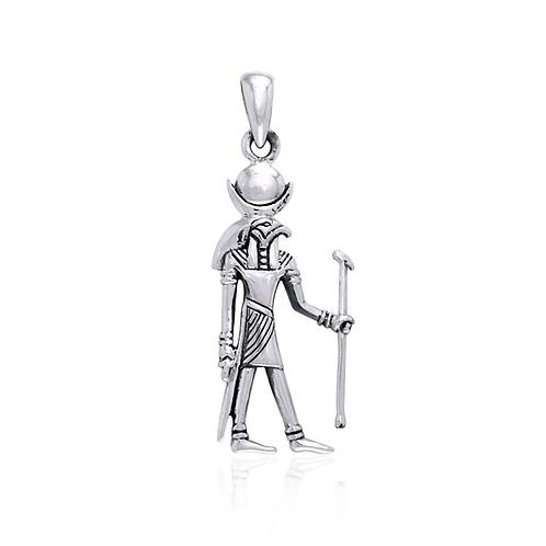 Silver Khonsu Pendant