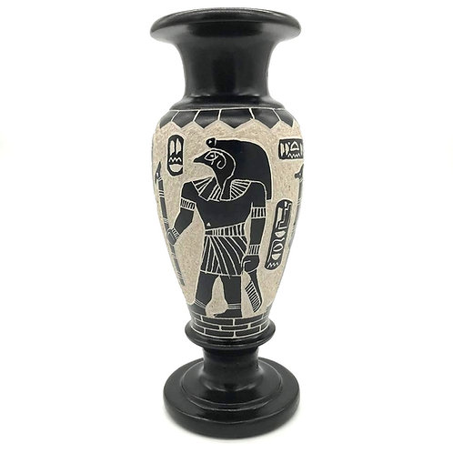 Limestone Vase - Large