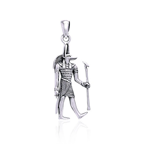 Silver Anubis pendant