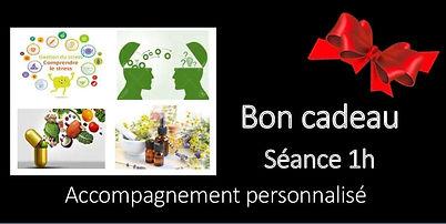 BON CADEAU SEANCE ACCOMPAGNEMENT PERSONN