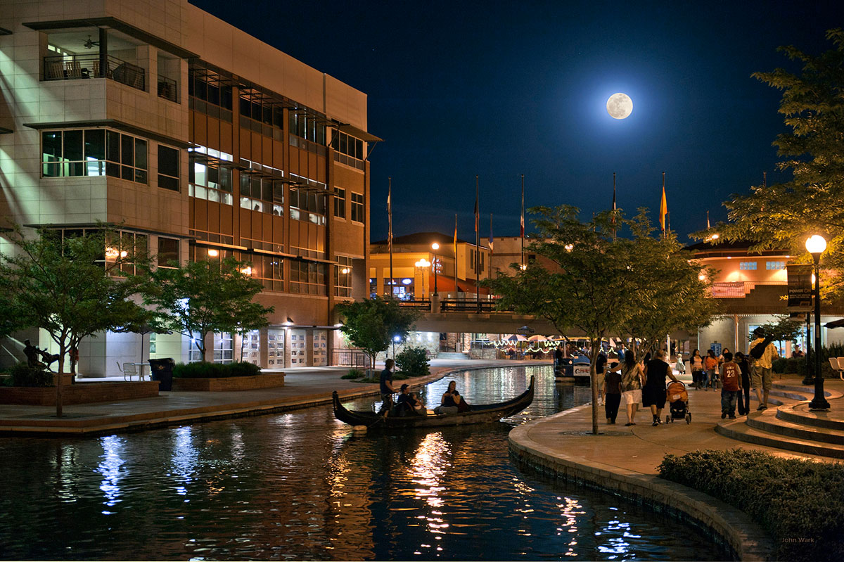 John_Wark_-_Pueblo_Riverwalk_at_Night.jpg
