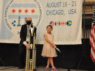 Irene Fei North American Youth Under 8 Girls Champion!!!!!