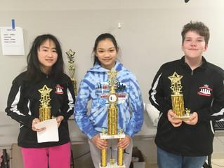 Anjali Lodh Iowa's National Girls Tournament of Champions Champion