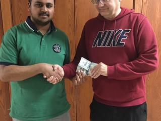 Arshaq Saleem wins 2019 Iowa Closed
