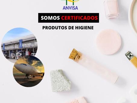 ANVISA - PRODUTOS DE HIGIENE