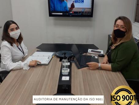 AUDITORIA DE MANUTENÇÃO ISO 9001