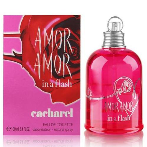 3cfd00ab6 Perfume Amor Amor in a Flash Cacharel Eau de Toilette Feminino 100 ml -  Perfumes importados com os melhores preços.