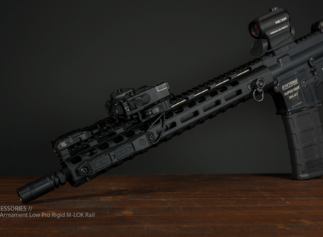PTS Griffin Armament Low-Pro RIGID Rail | AMNB Overview